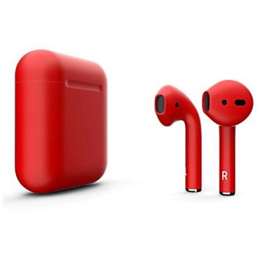 preiswerte Computer & Büro-litbest neue i12 blackpods redpods tws wahre drahtlose earbuds matte haut bluetooth 5.0 kopfhörer pop up für ios mit mikrofon freisprecheinrichtung touch control kopfhörer