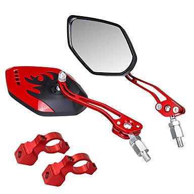 billige Sykkeltilbehør-Bakspeil Speil til sykkelstyre Justerbare Holdbar Stor baksynsvinkel Sykling motorsykkel Sykkel Aluminum Alloy PVC Svart Gull Rød Fjellsykkel Foldesykkel Fritidssykling