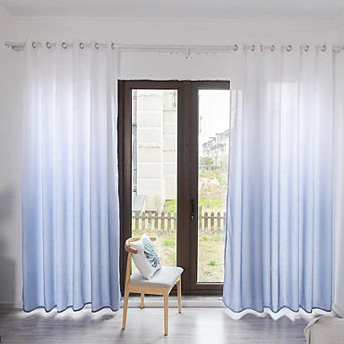 [$43.19] Contemporary One Panel Curtain Bedroom Curtains