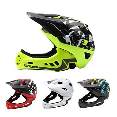 GUB® สำหรับเด็ก หมวกกันน็อคจักรยาน หมวกกันน็อคบีเอ็ม 21 Vents CE ทนต่อการอัด หมวกกันน็อกจักรยานแบบชิ้นเดียว Adjustable Fit กำไรต่อหุ้น พีซี กีฬา การเล่นสเก็ต การขี่ Racing -