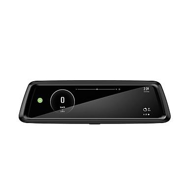 billige Bil-DVR-Factory OEM T903 1080p Bil DVR 170 grader Bred vinkel 10.6 tommers IPS Dash Cam med WIFI / GPS / Loop-opptak Bilopptaker