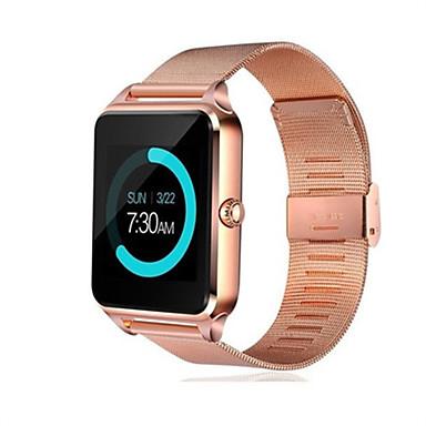 levne Pánské-Inteligentní hodinky Digitální Moderní styl Sportovní 30 m Voděodolné Bluetooth Smart Digitální Na běžné nošení Outdoor - Černá Zlatá Stříbrná