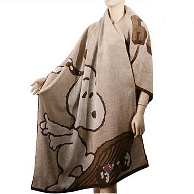 preiswerte Handtücher und Bademäntel-Gehobene Qualität Badehandtuch, Cartoon Design Polyester / Baumwolle Bad 1 pcs
