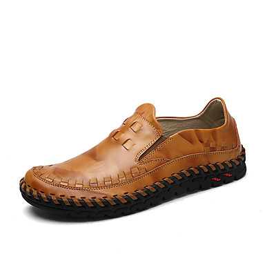 men's leather shoes cowhide spring  summer / fall