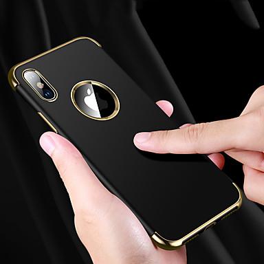 povoljno iPhone maske-Θήκη Za Apple iPhone XS / iPhone XR / iPhone XS Max Otporno na trešnju / Vodootpornost / Pozlata Stražnja maska Jednobojni Mekano TPU