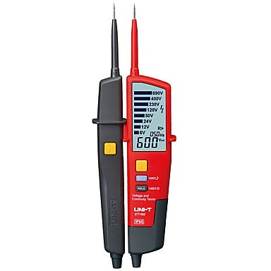 [$47 49] Auto Voltage Tester UNI-T UT18D Voltage Detector Pen LED/LCD  Display UNI-T UT18D Voltage Tester Pen Flashlight UT18D On Sale
