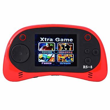 preiswerte Spielkonsolen-rs-8 handheld spieler für kinder tragbares spielsystem videospiel spieler 2.5 lcd integrierte 260 klassische spiele