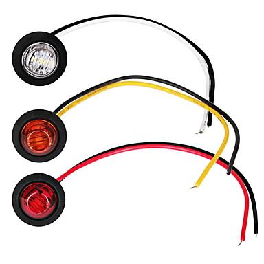 preiswerte Auto Lampen-2 stücke auto glühbirnen 1 w 80 lm led nebelscheinwerfer / blinker / seitenmarkierungsleuchten für universal allgemeine motoren alle jahre