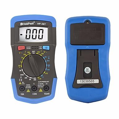 levne Testovací, měřící a kontrolní vybavení-holdpeak hp-36t ruční rozsah digitální tester profesionální multimetr dc ac střídavé napětí odporový měřič teploty
