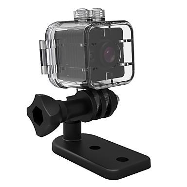 baratos Câmeras Esportivas & Acessórios GoPro-SQ12 vlogging Exterior / Alta Definição / Prova-de-Água 32 GB 30fps Não Nenhuma tela (saída pela APP) MJPEG Disparo Simples 15 m / Ângulo de visão largo
