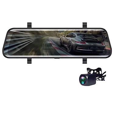 billige Bil Elektronikk-V700 1080p HD Bil DVR 170 grader Bred vinkel CMOS 10 tommers IPS Dash Cam med Night Vision / G-Sensor / Parkeringsmodus Bilopptaker