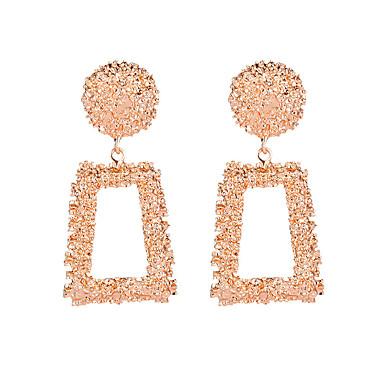 povoljno Modne naušnice-Žene Naušnica Klasičan Naušnice Jewelry Bijela / Crvena / Rose Gold Za Ulica Jabuka 1 par