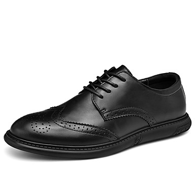 men's leather shoes nappa leather spring / fall  winter