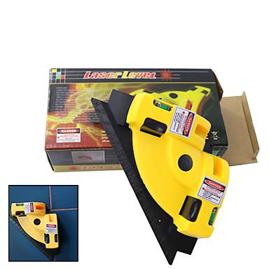 levne Testovací, měřící a kontrolní vybavení-gutmax 90 stupňů infračervené laserové tyčinky keramické dlaždice pravého úhlu nástroje pro měření laserové hladiny projekce hy03