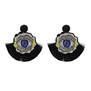 povoljno Naušnice-Žene Viseće naušnice Naušnice Jewelry Bijela / Crvena / Zelen Za Dnevno 1pc