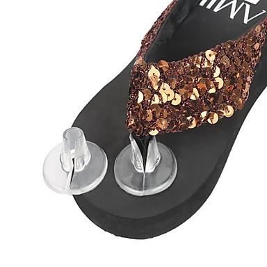 preiswerte Schuhe Zubehör-1 Paar tragbar Einlegesohlen & Einlagen Gel Vorfuß Sommer Unisex Klar