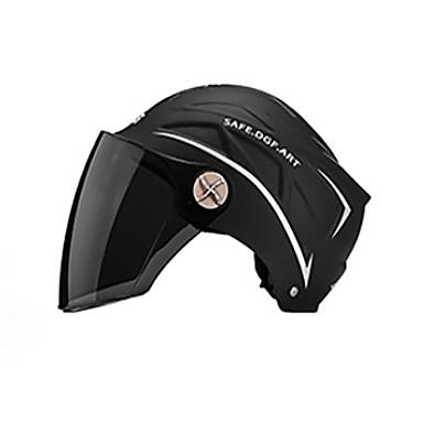 baratos Capacetes e Máscaras-125 capacete unisex da motocicleta dos adultos da cara completa windproof / antidesgaste / à prova de choque