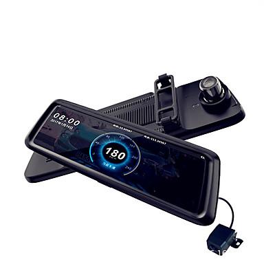 billige Bil Elektronikk-M10 1080p Bil DVR 170 grader Bred vinkel CMOS 10 tommers IPS Dash Cam med Night Vision / Parkeringsmodus / Loop-opptak Bilopptaker