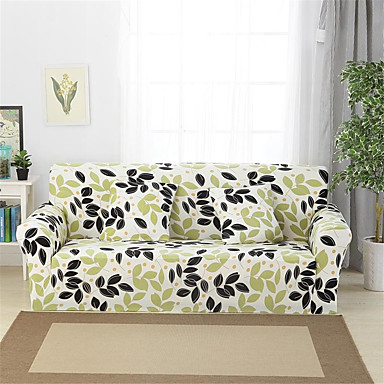 Fantastic 23 99 Leaves Print Durable Soft High Stretch Slipcovers Sofa Cover Washable Spandex Couch Covers Creativecarmelina Interior Chair Design Creativecarmelinacom