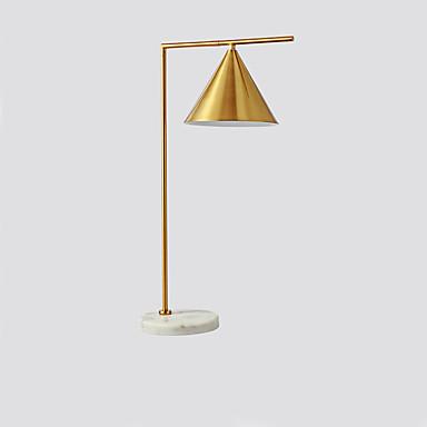 Enkel / Moderne Moderne Kreativ / Nytt Design Bordlampe / Skrivebordslampe Til Stue / Leserom / Kontor Metall 110-120V / 220-240V Gull