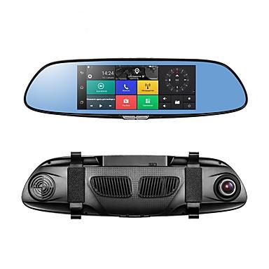 billige Bil-DVR-PHISUNG C08 1080p Full HD / med bakkamera / Oppstart automatisk opptak Bil DVR 140 grader Bred vinkel CMOS 7 tommers IPS / LED Dash Cam med GPS / G-Sensor / Parkeringsmodus Nei Bilopptaker