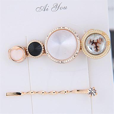 levne Dámské šperky-Dámské dámy Moderní Módní Cute Style Pryskyřice Slitina Ležérní Rande - Jednobarevné