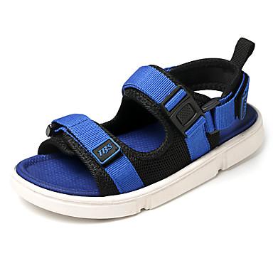 Αγορίστικα Ανατομικό Πανί Σανδάλια Τα μικρά παιδιά (4-7ys) / Μεγάλα παιδιά (7 ετών +) Περπάτημα Κόκκινο / Μπλε Καλοκαίρι / Συνδυασμός Χρωμάτων / Καοτσούκ