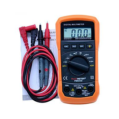 ms8233d 2000 räknare lcd display professionell multifunktions digital multimeter DC AC voltmeter frekvens bärbar tester