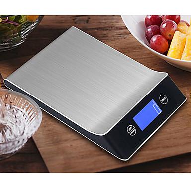 levne Testovací, měřící a kontrolní vybavení-5g-5kg digitální měřítko vaření nástroj z nerezové oceli elektronické váhy měřítko lcd displej kuchyňské váhy