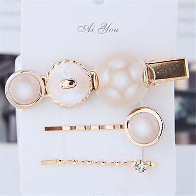 levne Dámské šperky-Dámské dámy Módní Cute Style Elegantní Pryskyřice Slitina Ležérní Rande - Jednobarevné