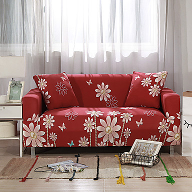 26 99 2019 New Fl Print Sofa Cover Stretch Couch Slipcover Super Soft Fabric High Quality