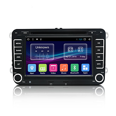 billige Bil Elektronikk-junsun 2531.a 7 tommers 2 din android 7.1 in-dash bil dvd-spiller / bil mp5 spiller / bil mp4 spiller gps / mp3 / innebygd bluetooth for volkswagen / skoda / sete mini usb støtte mp3 / wma gif / bmp