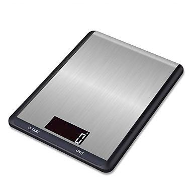 preiswerte Waagen-5 kg / 5 g digitale küchenwaage edelstahl multifunktionsnahrung diät küche gewicht waage elektronische waage kochen werkzeuge