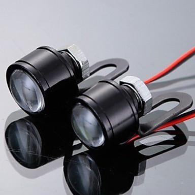 povoljno Motocikl Rasvjeta-2pcs Motor Žarulje LED Dnevna svjetla Za Motori Svi modeli Sve godine