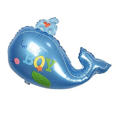 קישוטים לחג חגים ומועדים יום הולדת מודרני, חדשני כחול / ורוד 2pcs