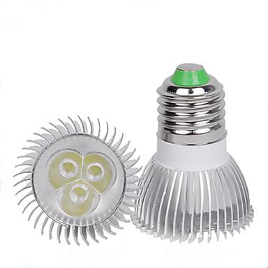 1pc 3 W תאורת ספוט לד 110-210 lm E26 / E27 3 LED חרוזים יצירתי לבן חם לבן קר 220-240 V 110-120 V