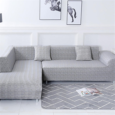 cheap Home & Garden-Sofa Cover Romantic Yarn Dyed Polyester / Cotton Blend Slipcovers