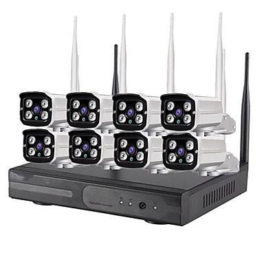 960p cctv מצלמה מערכת אבטחה HD אלחוטי ערכת nvr מערכת - -