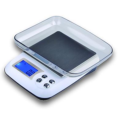 preiswerte Waagen-0.5g-3000g Auto-Off- Mehr Modus Elektronische Küchenwaage Familienleben Küche täglich