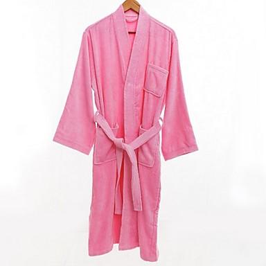 preiswerte Handtücher und Bademäntel-Gehobene Qualität Bademantel, Solide 100% Polyester Bad 1 pcs