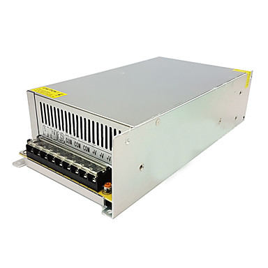 1pc אור רצועה אור מחרוזת וידאו ניטור מיתוג אספקת החשמל קלט AC85-265v פלט 24v 500w