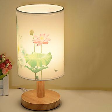 מודרני עכשווי עיצוב חדש מנורת שולחן עבור חדר שינה / משרד עץ / במבוק 220V