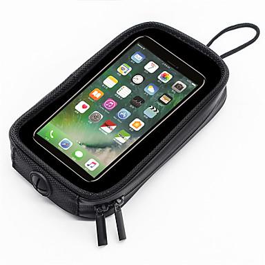 voordelige Auto-interieur accessoires-wosawe motorfiets mobiele navigatie tas motorfiets brandstoftank tas met magnetische telefoon tas