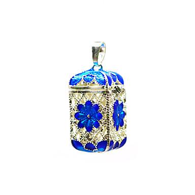 levne Dámské šperky-Dámské Přívěšky Medailónek Brož Šperky Fialová Modrá Pro Denní Street