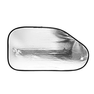 billige Interiørtilbehør til bilen-2 stk reflekterende bilbil side vindu solskygge skjerm visor blokk deksel med suckers