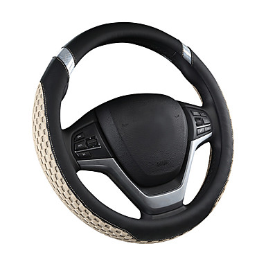 cheap Automotive-Car steering wheel cover carbon fiber fashionable lovely men and women four seasons gm car /Black/Purple/Red/Beige /Gray/Steering Wheel Covers