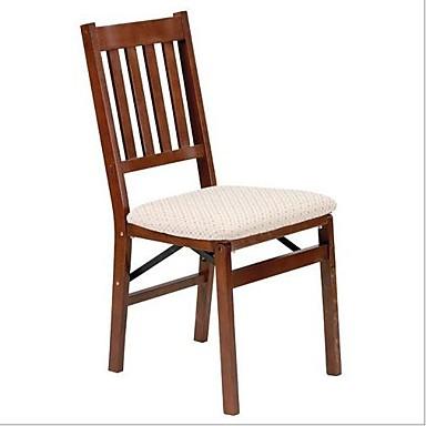 [$237.29] juego de 2 - silla de comedor plegable con asiento tapizado
