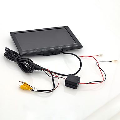 levne Auto Elektronika-9 palcový tft monitor lcd - opěrka hlavy ve vozidle / stojan ultra tenký design 800x480 rozlišení