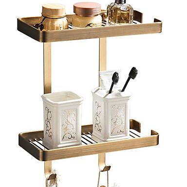 צדף לחדר האמבטיה יצירתי / רב שימושי עכשווי פליז 1pc מותקן על הקיר