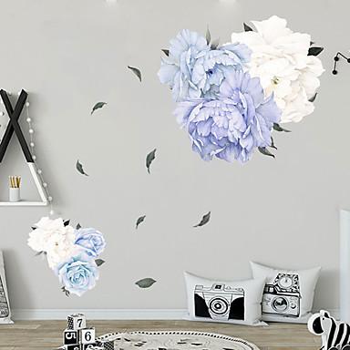 [$7.19] vinilos decorativos flores frescas - palabras& ampamp cita  pegatinas de pared personajes sala de estudio / oficina / comedor / cocina